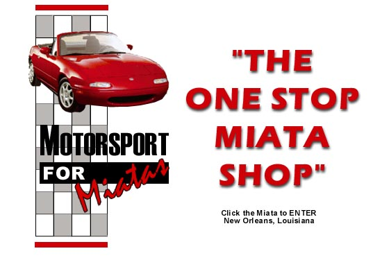 Welcome to Miata Shop